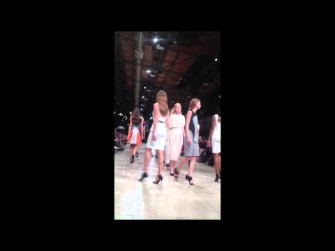 Yigal Azrouel runway at Saint Louis Fashion Week 2014
