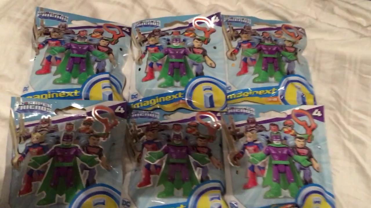 Imaginext DC Super Friends mini figurines Flashpoint Wonder Woman Series 4