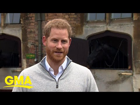 Public to get 1st look at Prince Harry, Meghan's baby boy l GMA