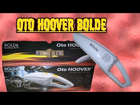 Review Oto Hoover bolde car vacuum cleaner