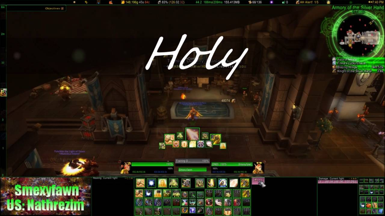 **Patch 7 2 READY**Paladin Weak Auras - Ret and Holy **Updated 3/28/2017**