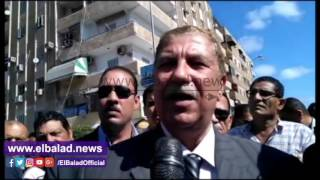 محافظ بورسعيد ينعى شهيد أحداث سجن المستقبل.. صور وفيديو