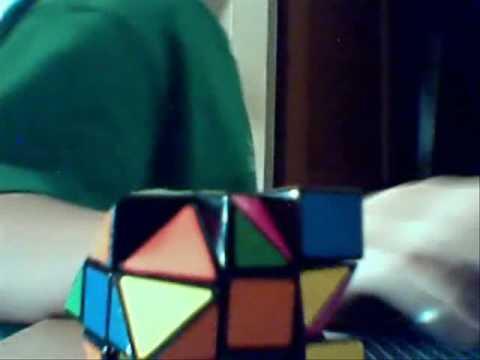half truncated cube (stickerd)