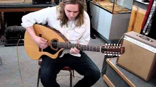 Vintage Giannini 12-String Craviola Acoustic Electric (video)
