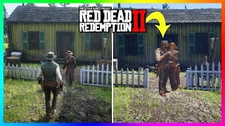 What Happens If John Follows Sadie Into The House In Red Dead Redemption 2? (SECRET Encounter)