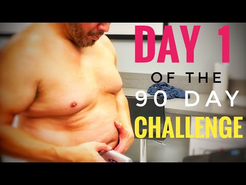 Extreme weight loss for men over 40/ My 90 Day Transformation Day 1