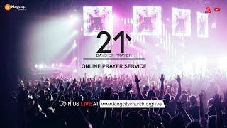 Day 20 | Prayer Service