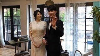 """『結婚""""歌手ノ・ジフン、イ・ウンヘとのウエディング撮影現場を公開 20180420"""