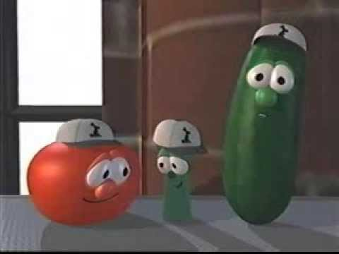 closing to veggietales larryboy amp the fib from outer