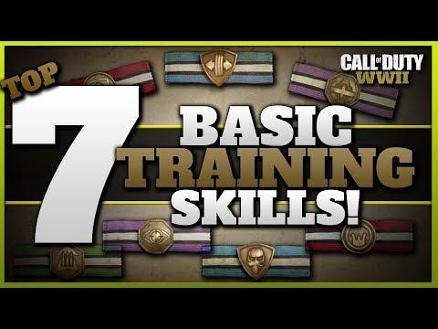 Top 7 Basic Training Skills in CoD WW2! | (Full Basic Training Perk List)
