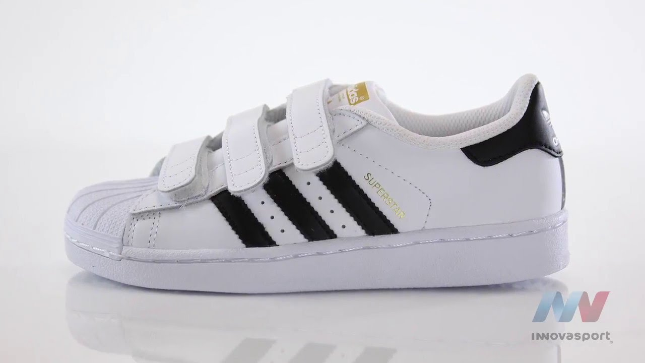 zapatillas casual de niños superstar foundation adidas originals