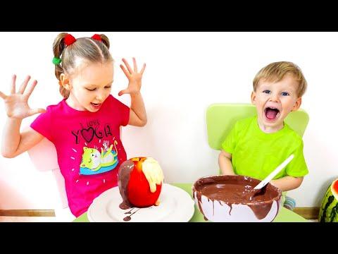 Лиза и сладкие истории про вредные сладости и шоколад
