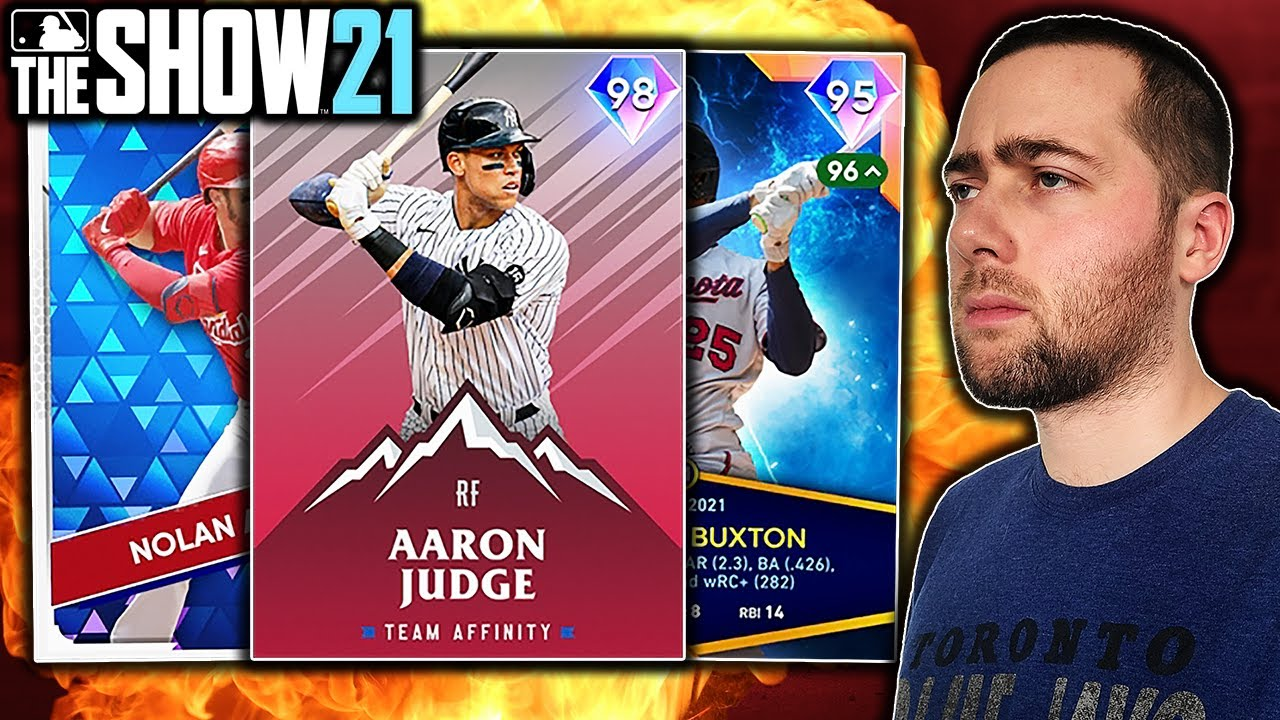 I USED THE BEST FIELDING TEAM IN MLB THE SHOW 21 DIAMOND DYNASTY...