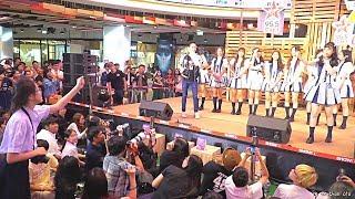 170915 FANCAM BNK48 - Introduce & じゃんけん @ ShowDC Mini concert 95.5 Virgin Hitz