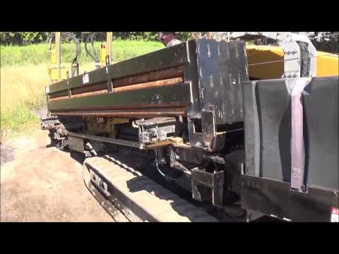 2009 Vermeer 20x22 Series II Horizontal Directional Drill.  Drill Test