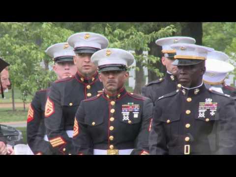 USMC BURIAL ARLINGTON NATIONAL CEMETERY
