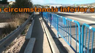 How Not To Build A Walkway Over A Bridge, The Spanish Way!!