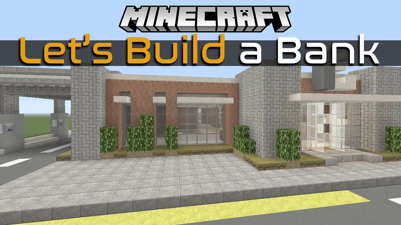 Minecraft Bank Build