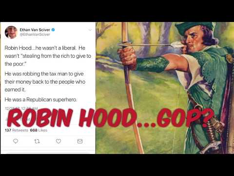 STOP POLITICIZING OUR HEROES!  (Or the Ballad of Republican Robin Hood.)