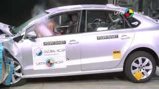 Volkswagen Vento (Polo Sedan) + 2 Airbag(Velocidad de impacto frontal a 64 km/h Velocidad de impacto lateral a 50 km/h Protección Ocupante Adulto: 5 Estrellas Proteeción ocupante infantil: 3 Estrellas ..., 2015-11-16T13:08:51.000Z)