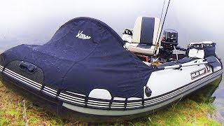 Моя ЧУДО-лодка ПВХ и ПОЛНЫЙ ФАРШ-ЛЮКС!) СИБИРИЯ