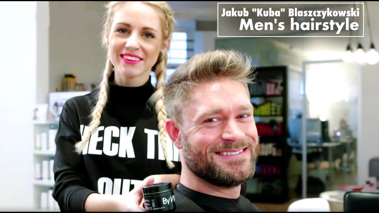 Marco Reus Hairstyle Name Jakub Kuba Blaszczykowski Hair Tutorial Mens Hairstyle For