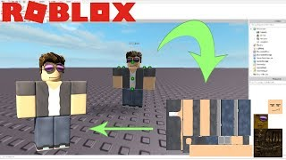 Roblox Tutorial - Download Character Skins and Models