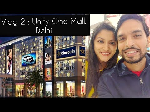 Unity One Mall Vlog | Delhi Mall | Indian Vlogger | Vlog Couple | Indian Couple Vlog