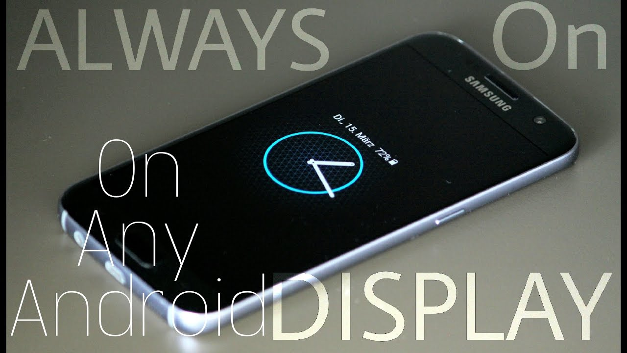 Always On Display App||On Any Android Smartphone||Best for Amoled  Display||Small & Easy [Galaxy App]