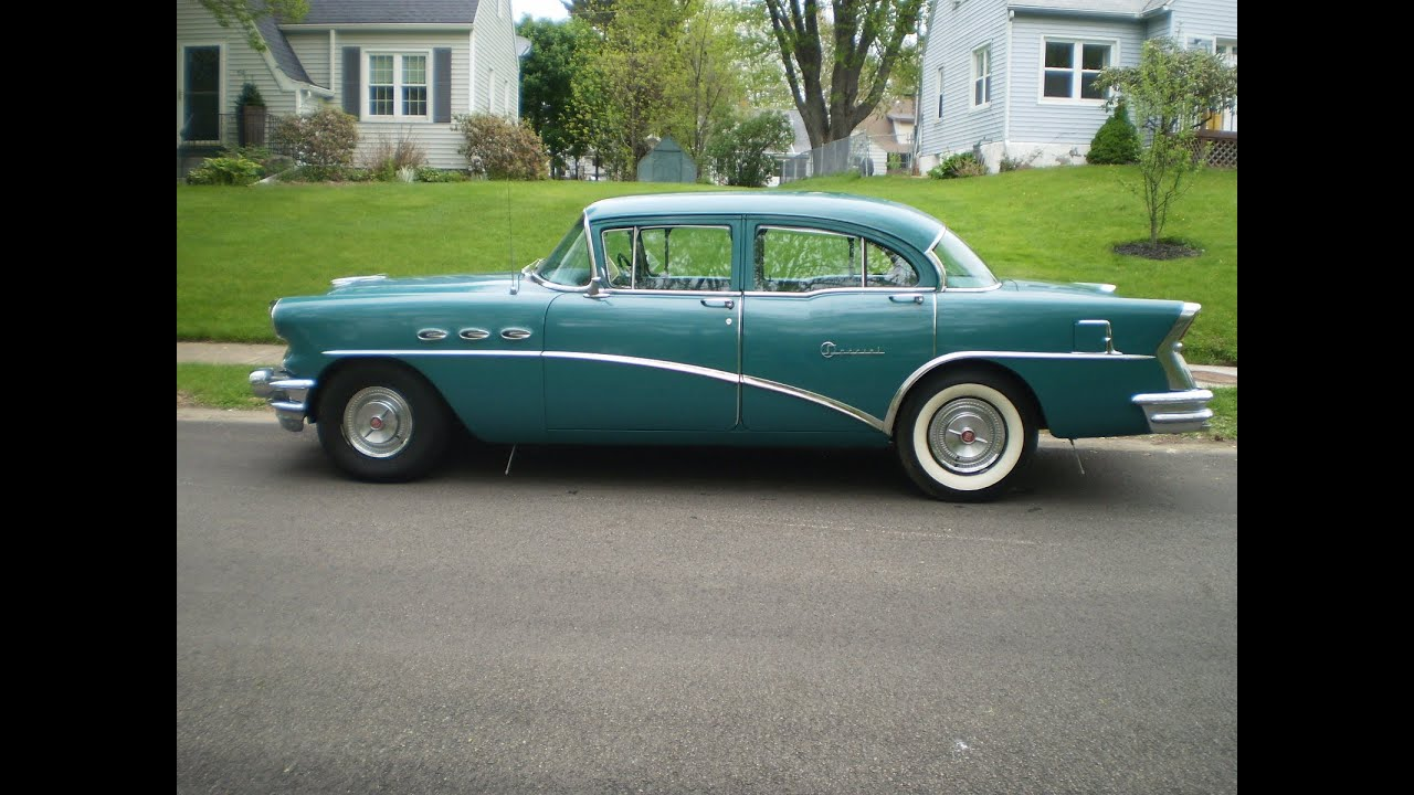 1956 buick special wth original 322 v8 with automatic for 1956 buick special 4 door