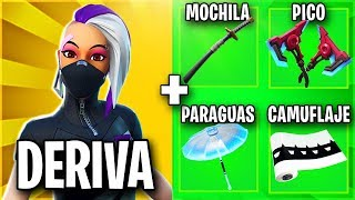 THE BEST SKIN COMBINATIONS WITH THE CATIAL 💚 SKIN COMBOS WITH FORTNITE DRIFT