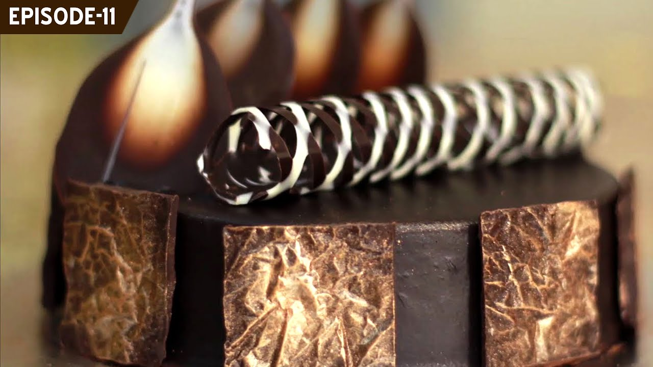 Learn How To Make Beautiful Chocolate Decorations To Decorate Your