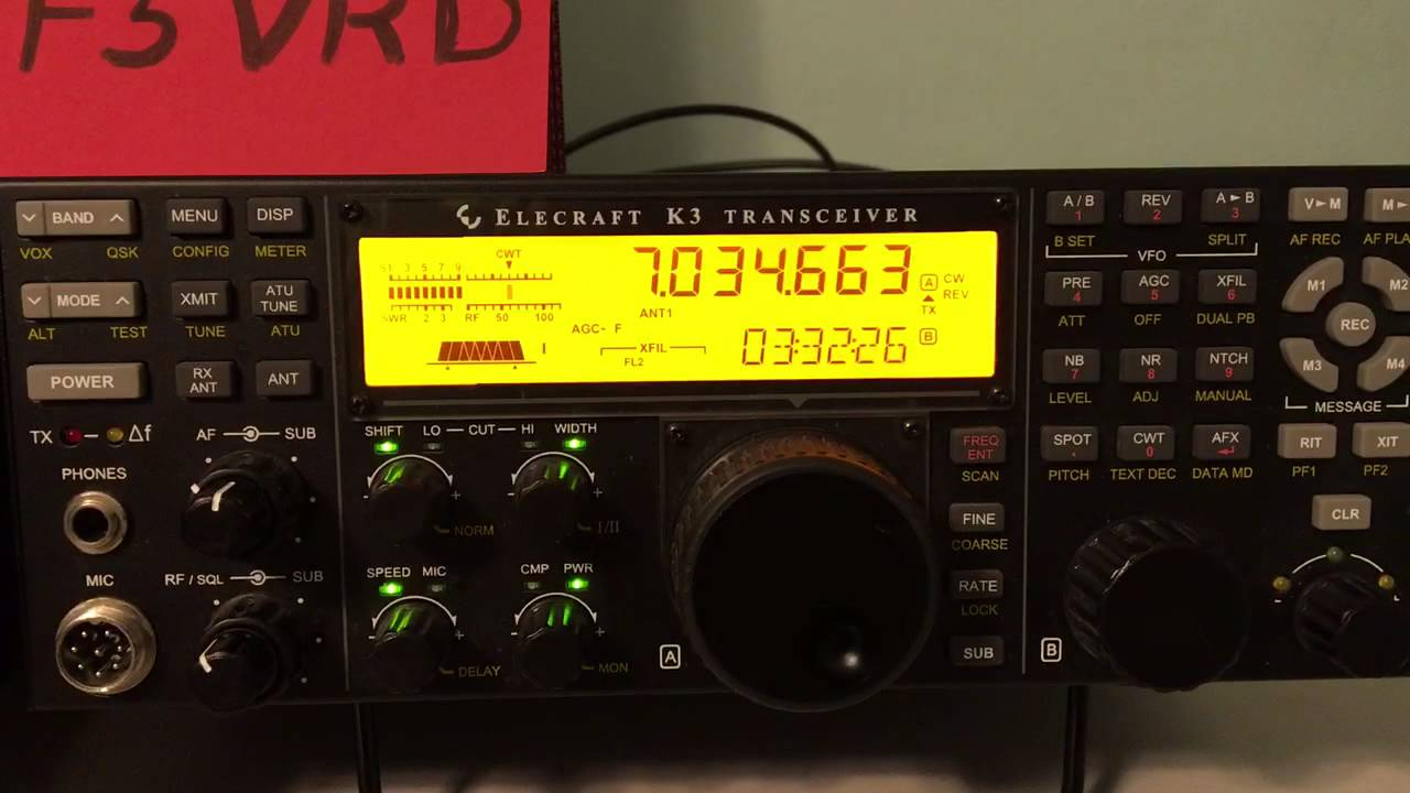 For Sale - SOLD!! ELECRAFT K3/P3 combo with SignaLink USB
