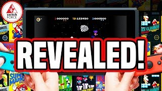 Nintendo Switch Online FULLY REVEALED! NES GAMES, CLOUD SAVES, MORE!