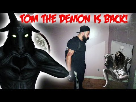 I RETURNED TO THE HAUNTED RITUAL HOUSE & SUMMONED TOM THE GHOST!
