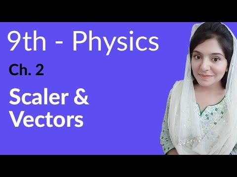 Download Matric part 1 Physics,ch 2,Scalars and Vectors-9th class Urdu Lecture