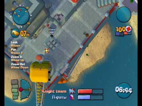 Worms 4 Mayhem (Online) - Game Style: Pro |