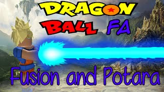 ROBLOX: Dragon Ball Final Adventures: Fusion and Potara