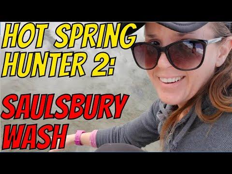 Hot Spring Hunter 2: Saulsbury Wash Warm Spring (Solo Adventure Trip Part 4 Of 7)