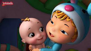 Rosy Cheeks, Dimple Chin | Baby Song & Rhymes for Children | Infobells thumbnail
