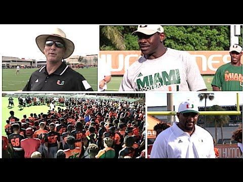 University of Miami : Paradise Football Camp 2016
