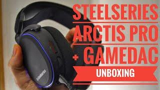 SteelSeries Arctis Pro + GameDAC Unboxing