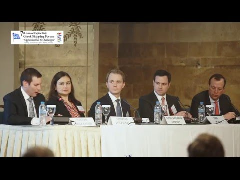 7th Annual Greek Shipping Forum - Are Capital Markets Open to Shipping