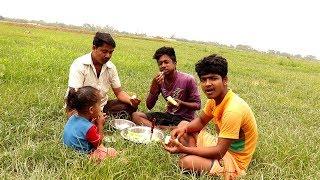 Bangali Style Eating Farm Fresh Cucumber (Sasha)   Indian Village Food Recipes