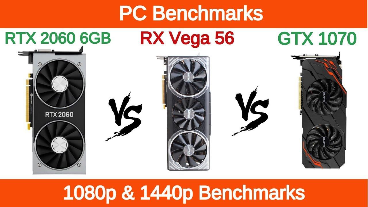 Nvidia Rtx 2060 Vs Amd Rx Vega 56 Vs Nvidia Gtx 1070 Youtube