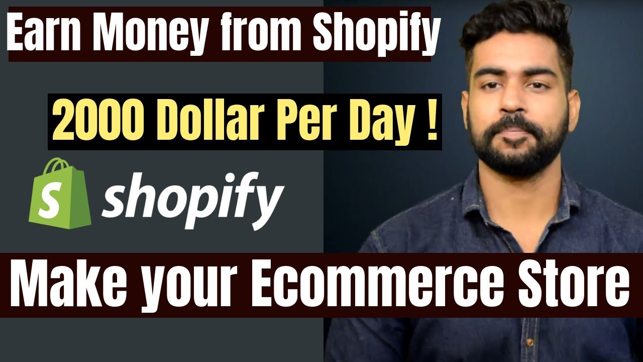 Make Money from Internet | $2000 Per Day Possible | Shopify | Dropshipping