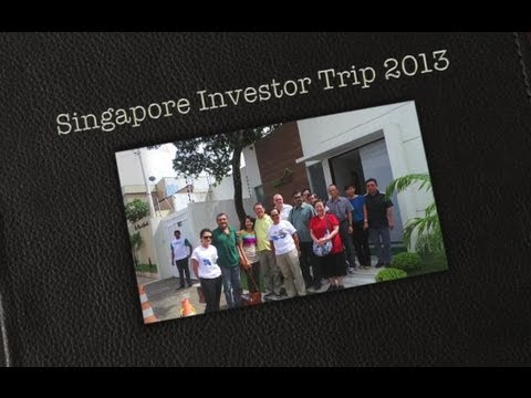 EcoHouse Group Singapore Investors Trip 27th April 2013