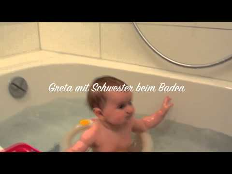 baby baden badesitz made in italy baby badewanne youtube. Black Bedroom Furniture Sets. Home Design Ideas