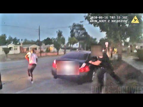 Armed Man Gets Shot After Running From Pasadena Police