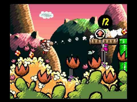 """[TAS] SNES Super Mario World 2: Yoshi's Island """"100%"""" by Baxter, Carl Sagan & NxC[...] in 1:59:35.12"""